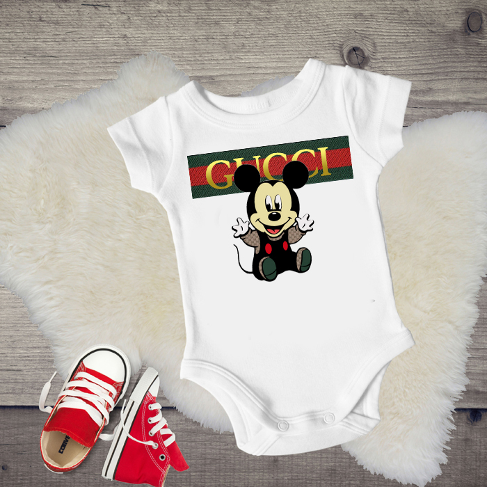 4169815668 Gucci Mickey Mouse Designer Inspired Tanks Tshirts For Babies Toddlers Kids