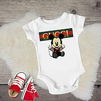 Gucci Mickey Inspired Tanks Tshirts For Babies and Toddlers