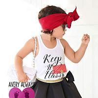 Keep It Classy Chanel Inspired Handbag Tanks Tshirts For Babies and Toddlers