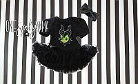 Maleficent Tutu Costume For Baby Girls