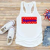 Supreme LV Inspired Lips 4th of July Tanks Tshirts For Babies Toddlers and Women