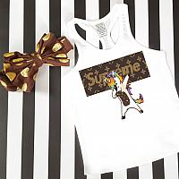 LV Inspired Unicorn Dab Tanks Tshirts For Babies, Toddlers, Kids and Women